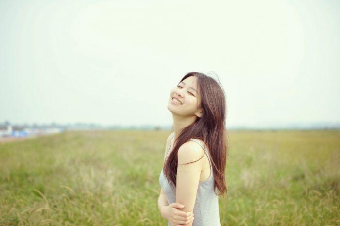 小清新美女图片 温婉可人的时尚小清新美女头像