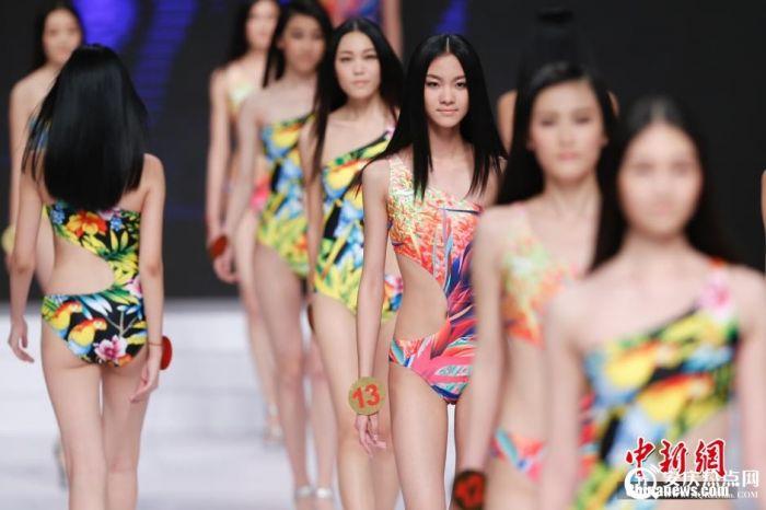 韩国比基尼模特大赛 韩国拉拉队大赛 模特比基尼出镜健康性感秀健美身材