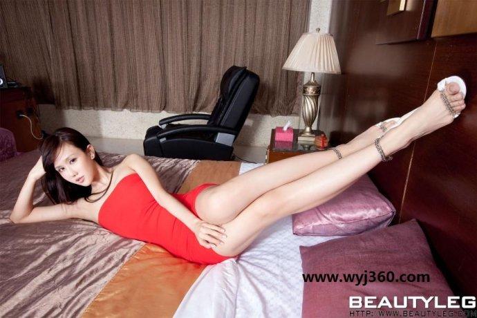 台湾腿模sara [组图]Beautyleg著名腿模sara王郁文林瑞瑜瘦腿有妙招 运动加饮